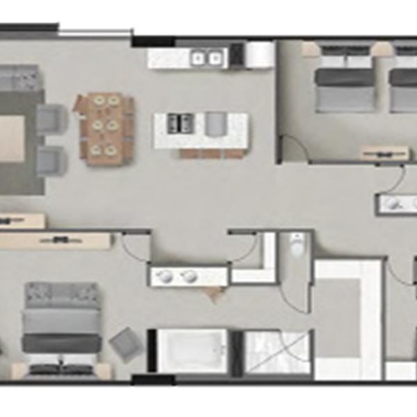 Antiqua 2A Floorplan