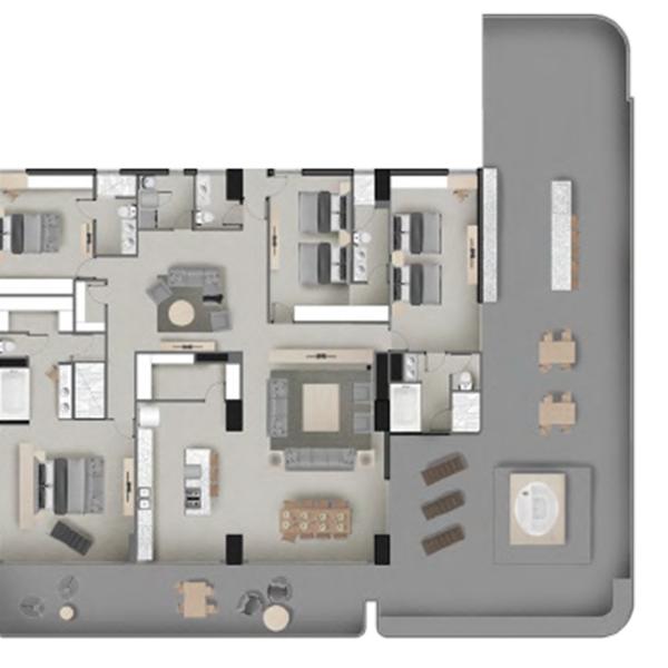 Antiqua PH4 Floor Plan
